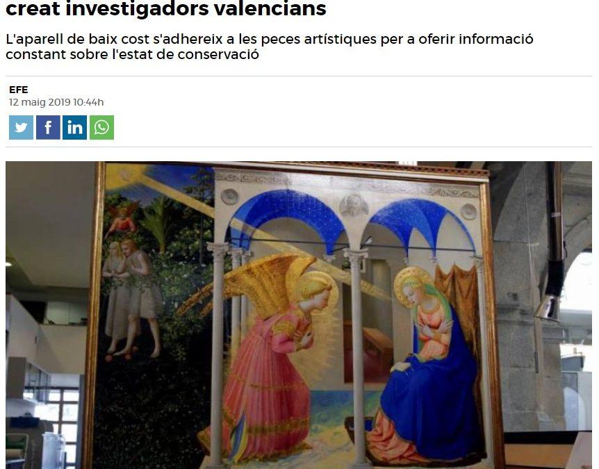 El dispositiu per a vetllar per la salut de l'art que han creat investigadors valencians