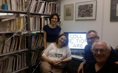 Artworks selection process for the CollectionCare project